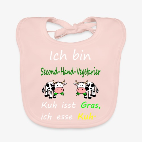 ich liebe kühe - Baby Bio-Lätzchen