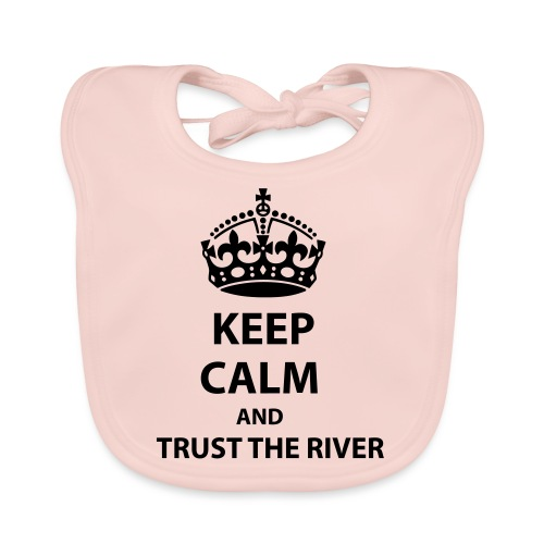 Trust The River - Ekologisk babyhaklapp