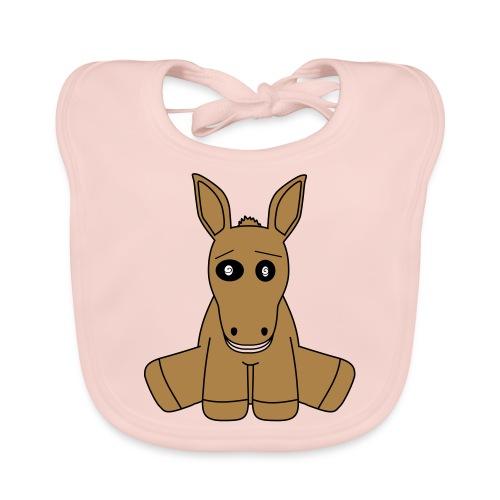 horse - Bavaglino ecologico per neonato