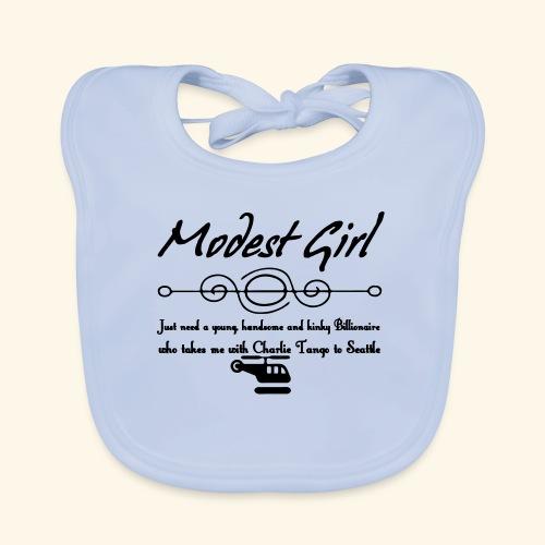 Modest Girl Shirts - Baby Organic Bib