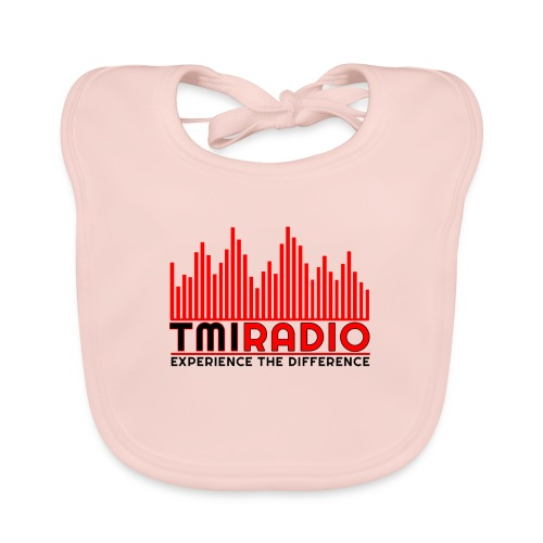 NEW TMI LOGO RED AND BLACK 2000 - Organic Baby Bibs