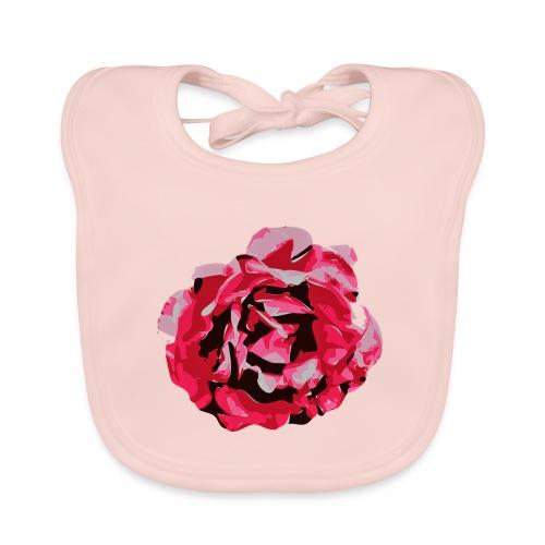 rose - Baby Bio-Lätzchen