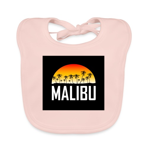 Malibu Nights - Baby Organic Bib