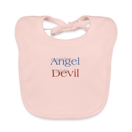 Angelo o Diavolo? - Bavaglino ecologico per neonato