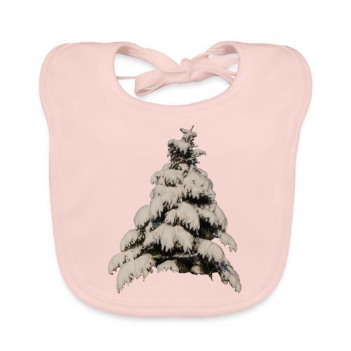 Fichte Tanne Winter Weihnachten - Baby Bio-Lätzchen