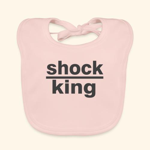 shock king funny - Bavaglino ecologico per neonato
