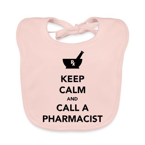 Keep Calm - Pharma - Baby Organic Bib