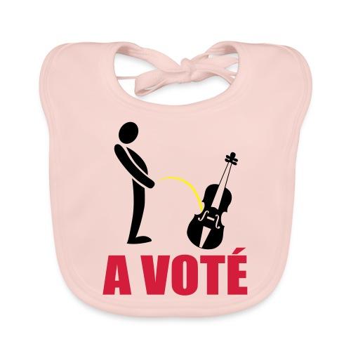 A voté - Bavoir bio Bébé