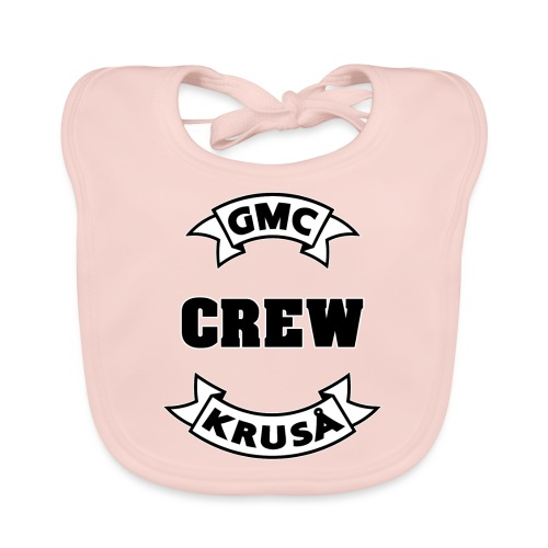 GMC CREWSHIRT - KUN FOR / CREW MEMBERS ONLY - Baby økologisk hagesmæk