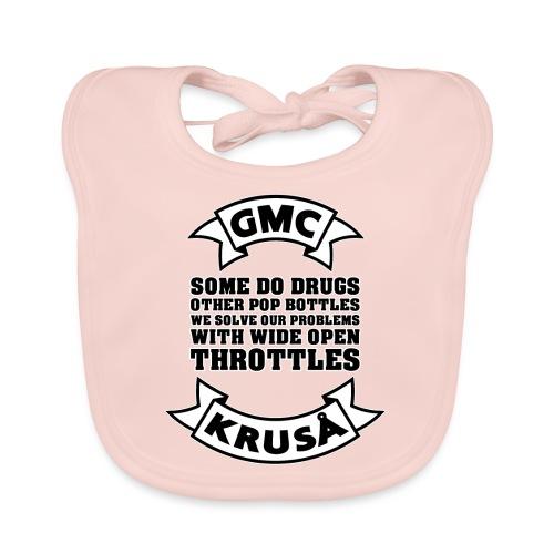 GMC Nogle gør narkotika - Hagesmække af økologisk bomuld