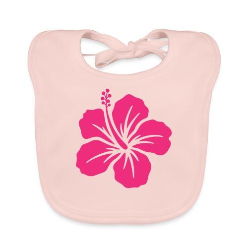 Camisetas, blusas, forros celulares de flor rosada - Babero ecológico bebé