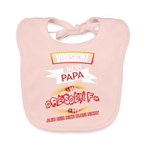 Papa Dresden Fan - Baby Bio-Lätzchen