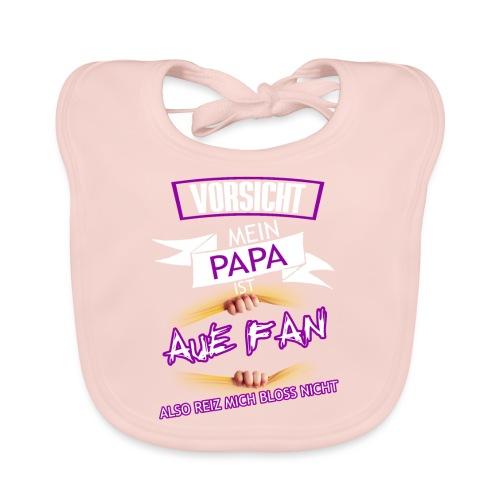 papa AUE Fan - Baby Bio-Lätzchen