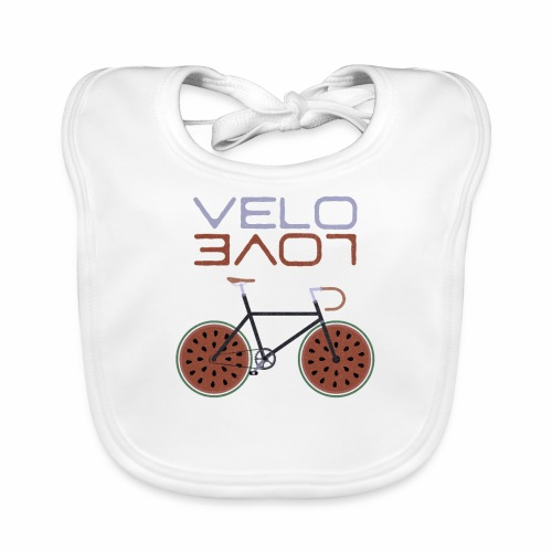Melonen Bike Shirt Velo Love Shirt Rennrad Shirt - Baby Bio-Lätzchen
