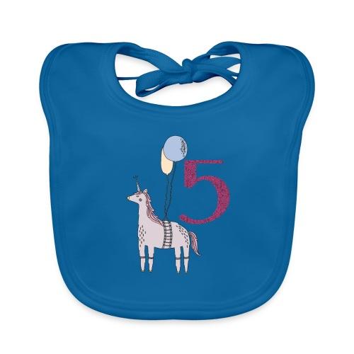 5 Jahre // Geburtstag T-Shirt zum 5. Geburtstag - Baby Bio-Lätzchen