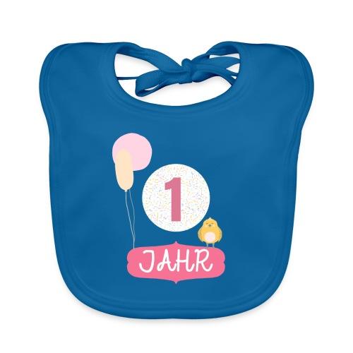 1 Jahr. Das Geburtstag T-Shirt zum 1. Geburtstag. - Baby Bio-Lätzchen