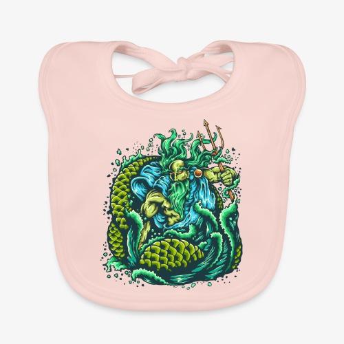 Gott des Meeres - Baby Bio-Lätzchen