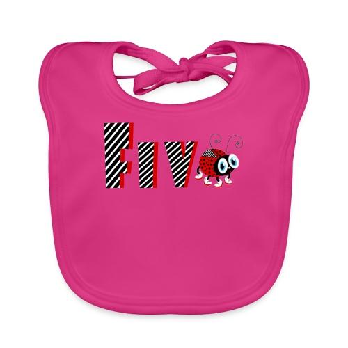 5nd Year Family Ladybug T-Shirts Gifts Daughter - Baby Bio-Lätzchen