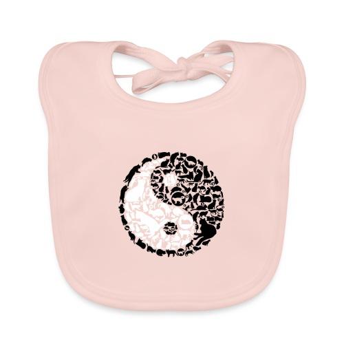 YinYang Cats - Baby Bio-Lätzchen