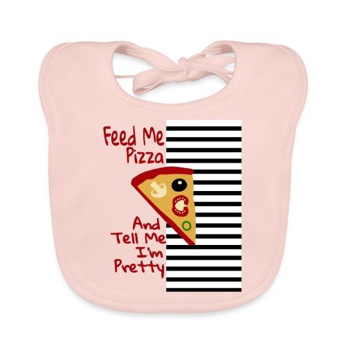Nutri la mia pizza e dimmi che sono carina - Bavaglino