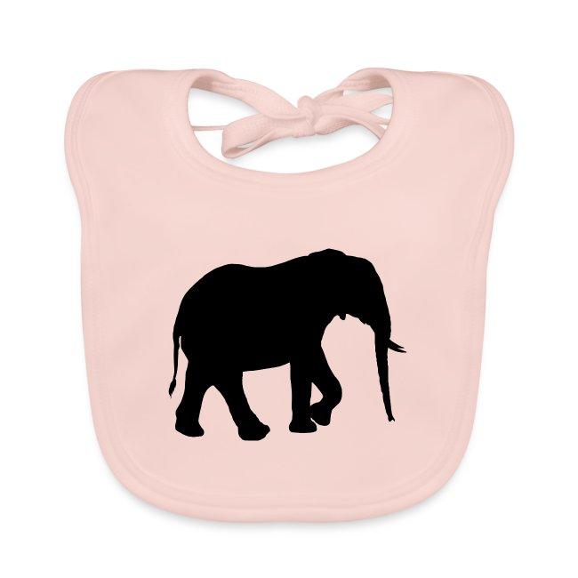 Schattenriss Afrikanischer Elefant