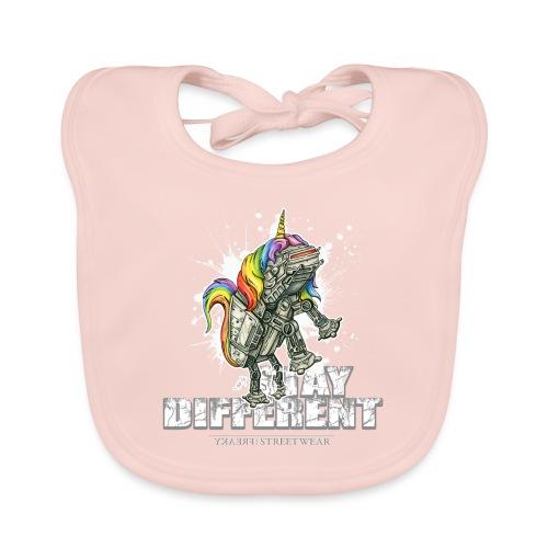 Stay Different - Imperial Unicorn - Baby Bio-Lätzchen