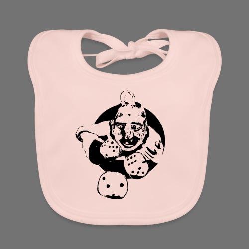 Professionel Gambler (1c sort) - Baby økologisk hagesmæk