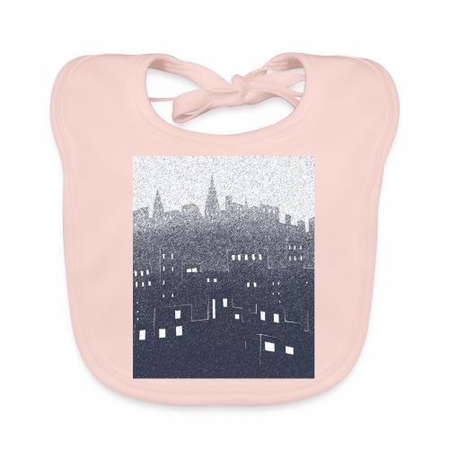 citysnow rectangle - Bavoir bio Bébé