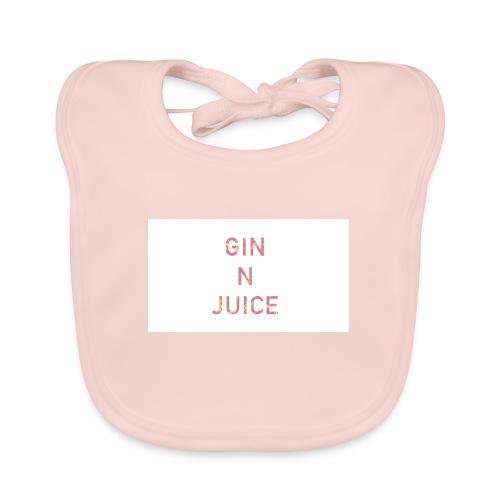 Gin n juice geschenk geschenkidee - Baby Bio-Lätzchen