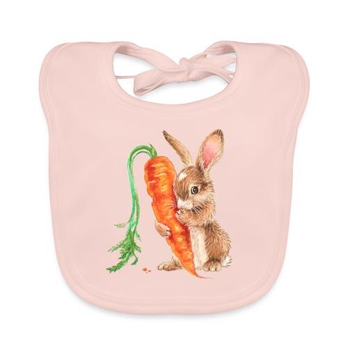 konijntje met wortel - Organic Baby Bibs