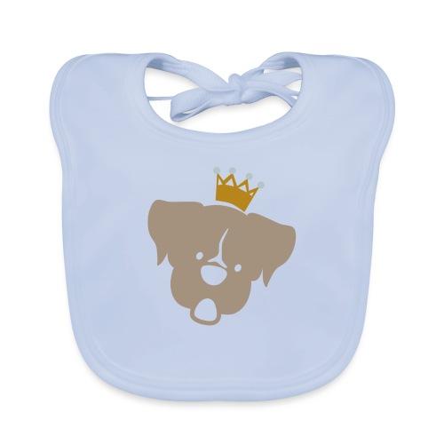 Prinz Poldi braun - Baby Bio-Lätzchen