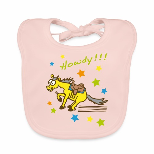 Howdy Westernpony - Baby Bio-Lätzchen
