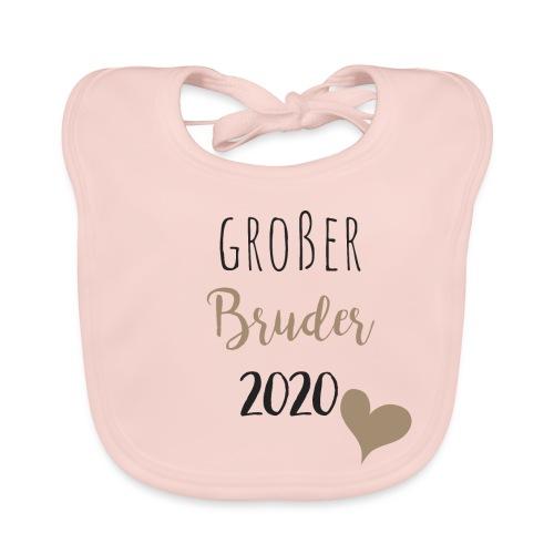 Großer Bruder 2020 - Baby Bio-Lätzchen
