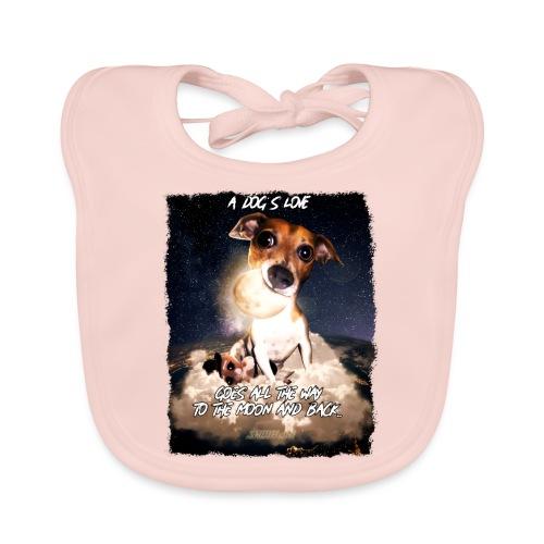 A dog's love - Bio-slabbetje voor baby's