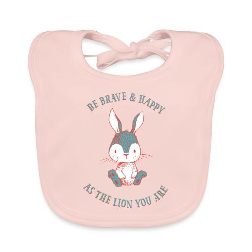 Brave rabbit - Baby Organic Bib