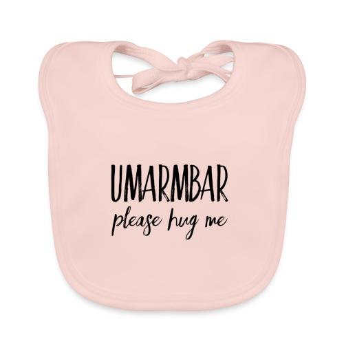 UMARMBAR - please hug me - Baby Bio-Lätzchen