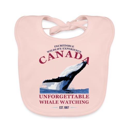 CANADA - WHALE WATCHING - Baby Bio-Lätzchen