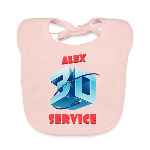 logo emporesa de impresion 3d en albacete - Babero de algodón orgánico para bebés
