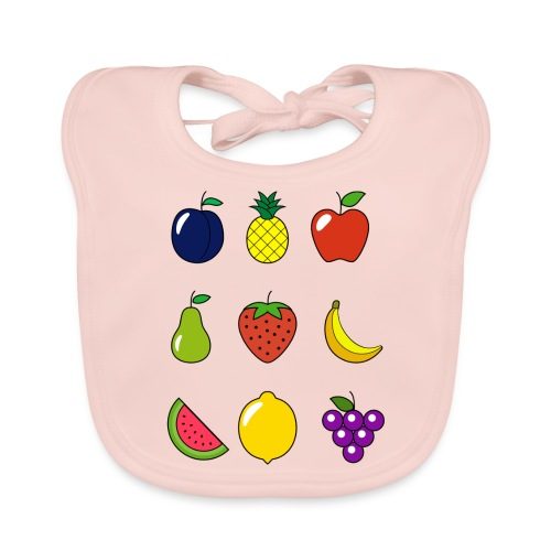 Fruit Collection - Baby Organic Bib