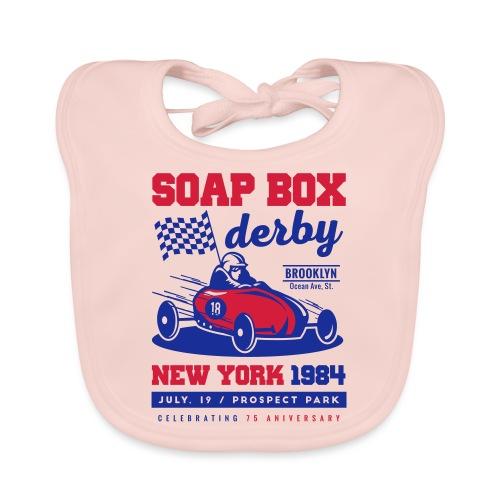 SoapBox NewYork - Babero de algodón orgánico para bebés