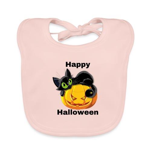 Happy Halloween cat - Organic Baby Bibs