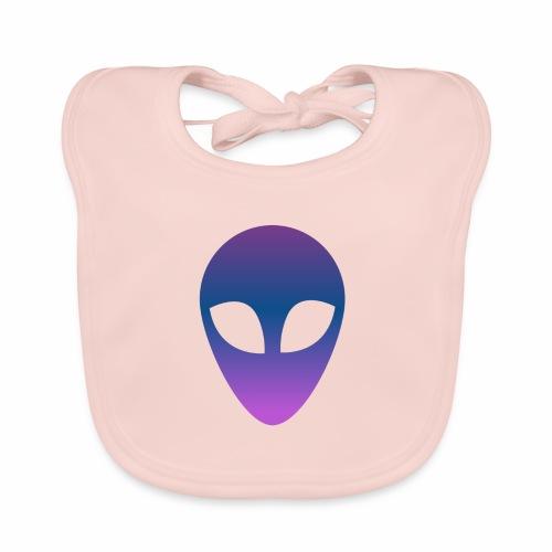 Aliens - Babero de algodón orgánico para bebés