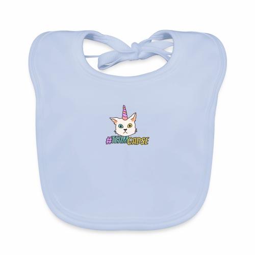 Gadse | Katze | Lustig | #TeamGadse | Vong - Baby Bio-Lätzchen