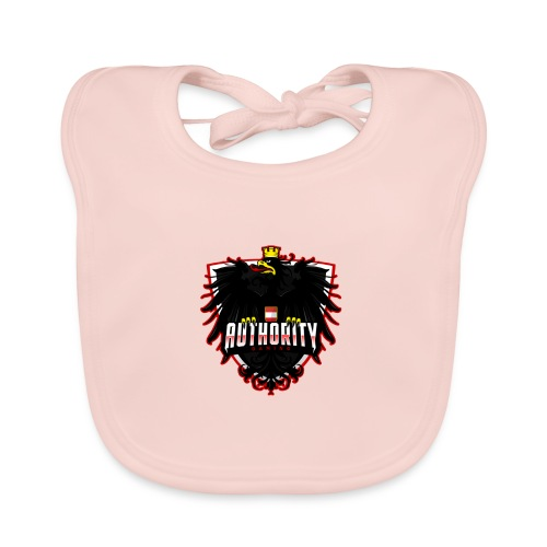 AUThority Gaming red - Baby Bio-Lätzchen