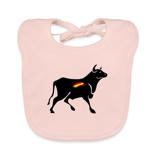 toro español - Babero de algodón orgánico para bebés