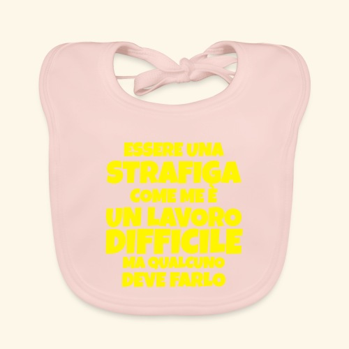 Frase Ironica - essere strafiga - FLAT - Bavaglino