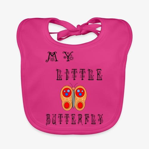 butterfly1 - Baby Bio-Lätzchen