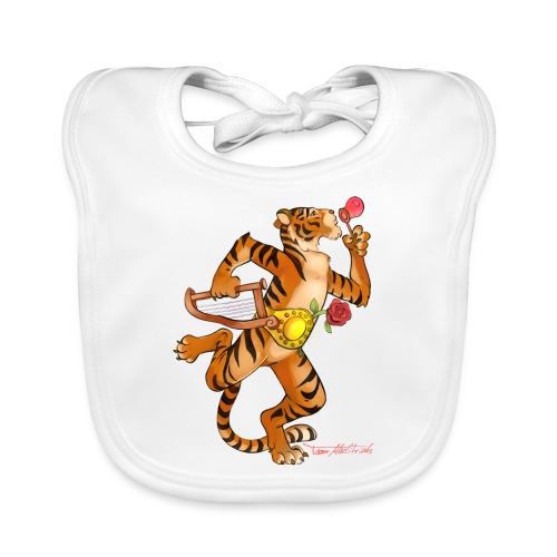 Tiger Vari - Baby Bio-Lätzchen