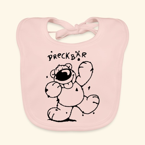 Dreckbär - Baby Bio-Lätzchen