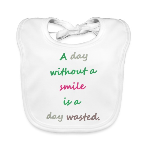 Say in English with effect - Organic Baby Bibs
